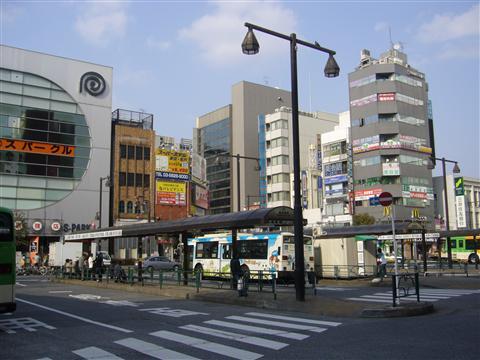 亀戸駅周辺のイメージ