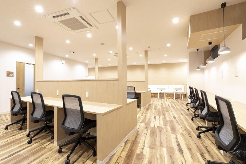 町田オフィスのワークブース