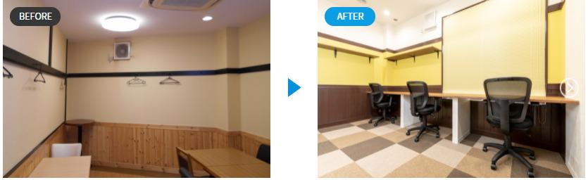 葛飾青砥 Before&After